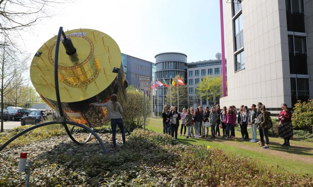 EUMETSAT welcomes visitors for Girls' Day