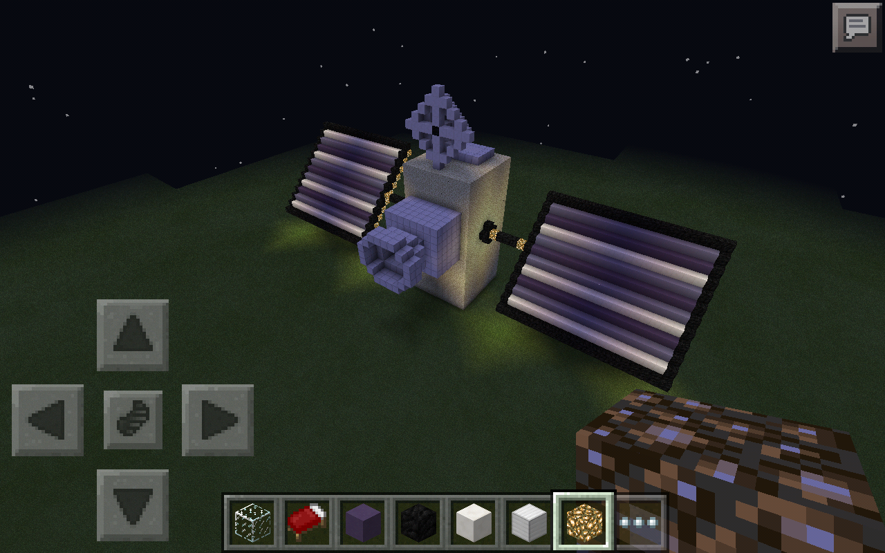 how to make a satellite in minecraft
