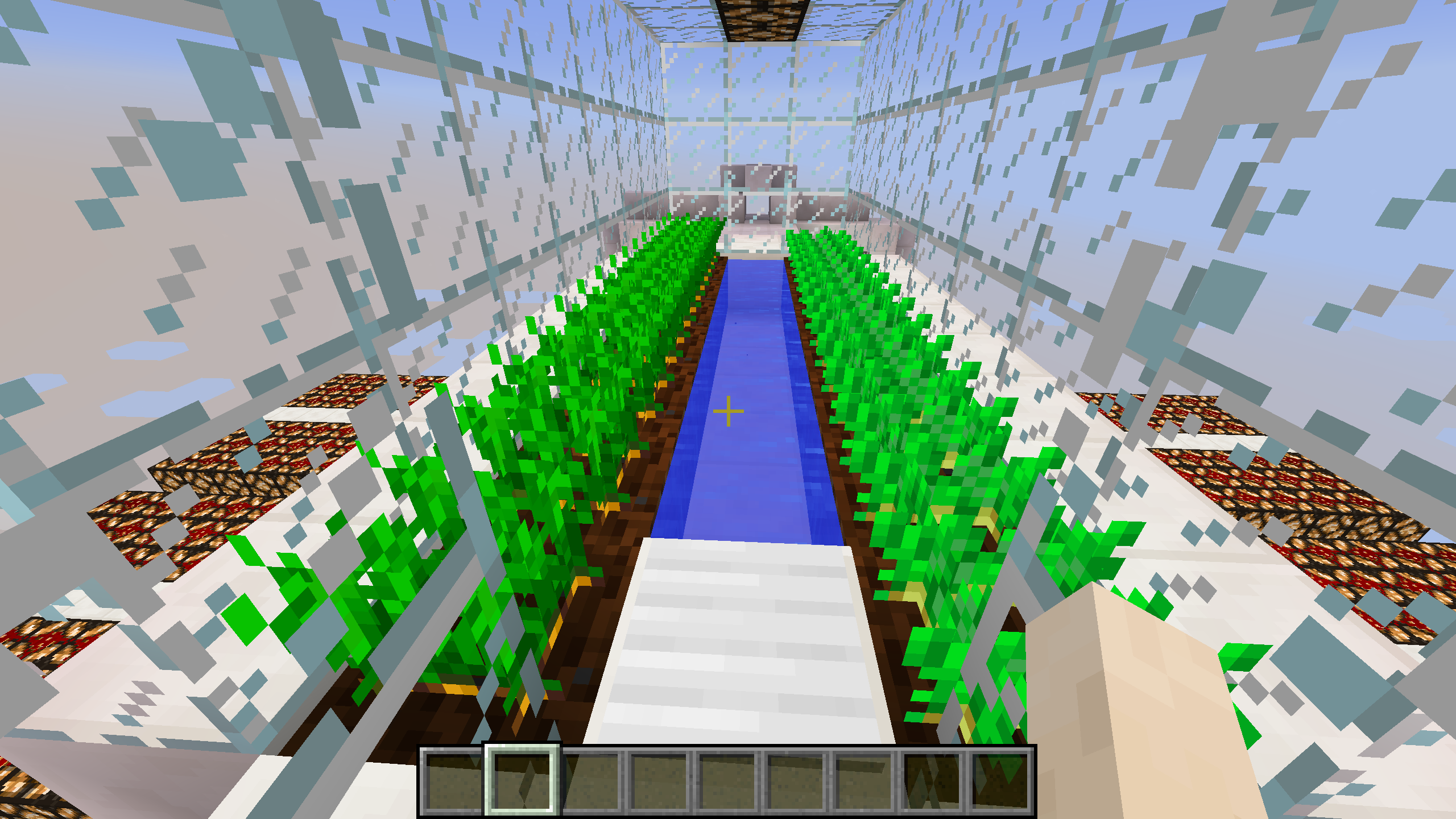 jardin minecraft the EUMETSAT Learning Zone
