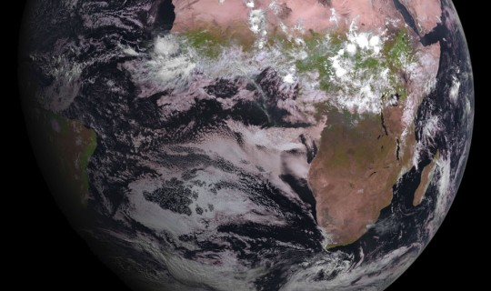 MSG-4 Satellite Just Delivered its First Image of the Earth