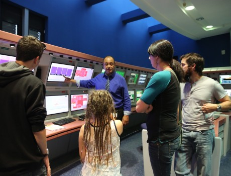 Minecraft Competition winner Isaac Jaynes comes to EUMETSAT