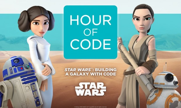 Learn coding with Star Wars