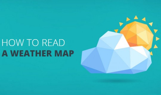 Learn how to read a weather map