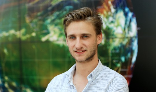 Meet Jonas: recent communications intern at EUMETSAT